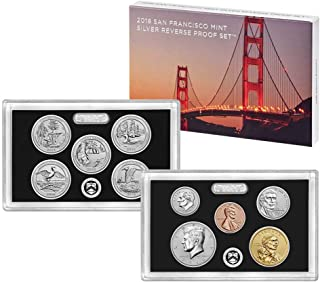 Best 2018 50th anniversary san francisco silver reverse proof set Reviews