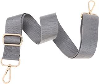 Baoblaze Universal Replacement Shoulder Strap Adjustable Luggage Bag Belt Handbag Strap Black/Brown/Gray - Gray, as described