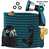 Best flat garden hose - Knoikos Expandable Garden Hose 100ft - Expanding Flexible Review