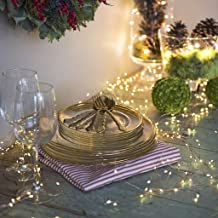 PSFS 200 LEDs String Lights with 10 Strands Copper String Fairy Lights Bunch Star DIY Lights String USB Powered Home Christmas Day Decoration (Yellow)