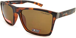 Dirty Dog Mens Volcano Satin Sunglasses - Brown Tort