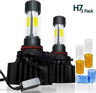 Zone Tech LED Headlight Conversion Bulbs Kit – Premium Quality LED1-H7 Universal Fit Headlight Conversion Kit