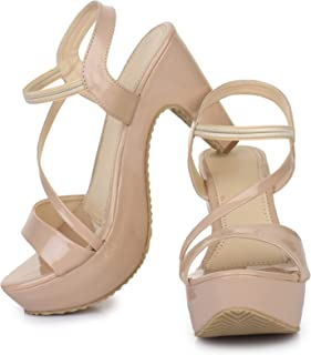 Beauty Queen Latest Comfortable fashionable Block Heels for Womens and Girls