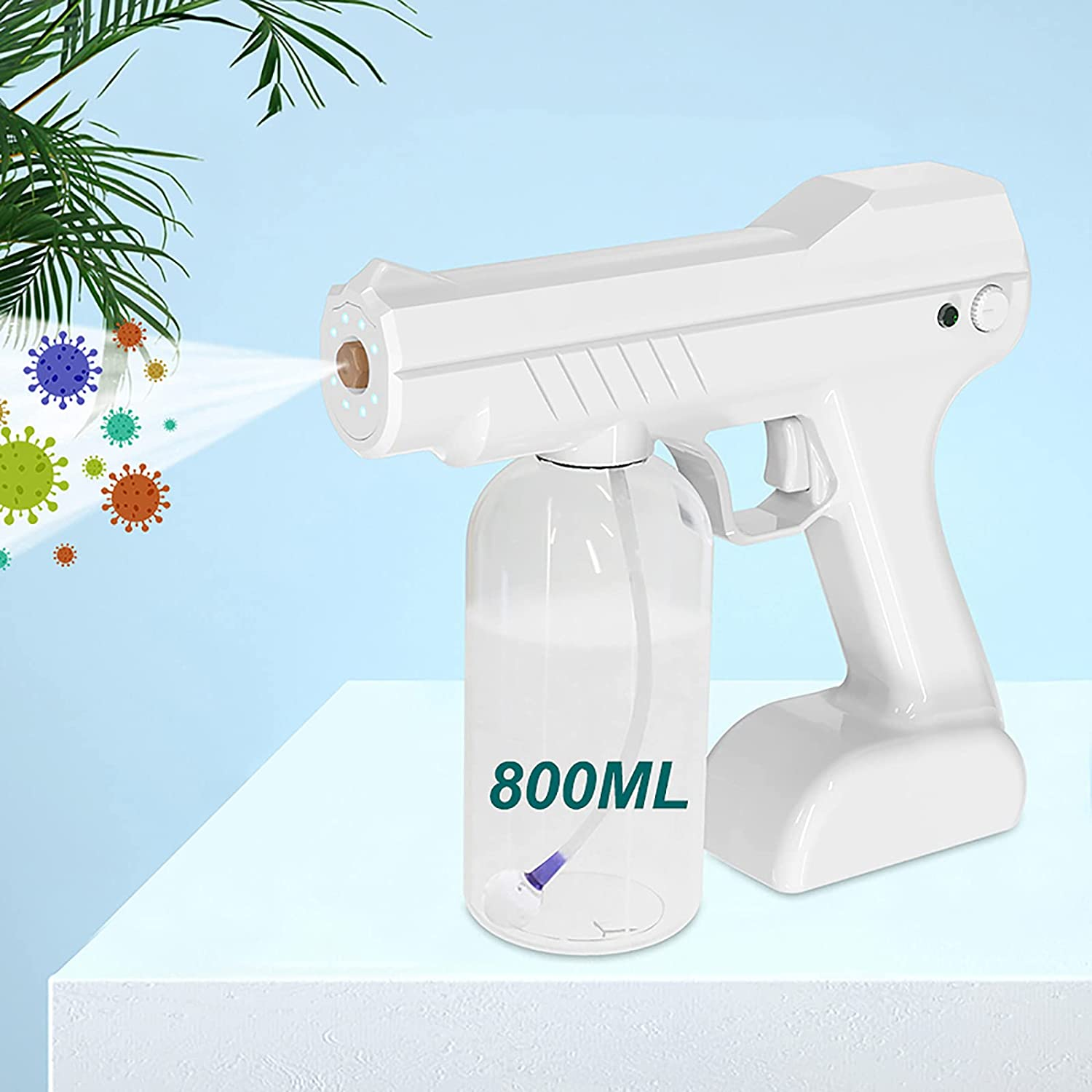 ZYFHSGS Ranking TOP19 Spray steam Gun Electric Max 79% OFF Handheld Cordless Rechargeable