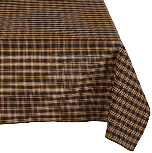 Park Designs Black Sturbridge Table Cloth 54 X 54