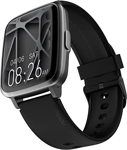Noise ColorFit Pulse Smartwatch with 1 4 Full Touch HD Display SpO2 Heart Rate Sleep Monitors 10 Day Battery Jet Black