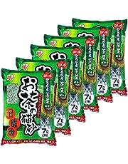 アイリスオーヤマ トイレに流せる お茶の猫砂 脱臭 7Lx6袋 (まとめ買い)