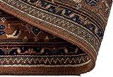 Lifetex.eu Teppich Bidjar ca. 170 x 240 cm Beige handgeknüpft Schurwolle Klassisch hochwertiger Teppich - 6