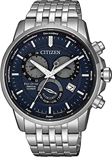 CITIZEN Mens Solar Powered Watch, Analog Display and Solid Stainless Steel Strap - BL8150-86L