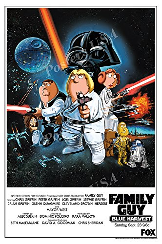 Posters USA - Family Guy Blue Harvest Movie Poster GLOSSY FINISH - FIL592 (24' x 36' (61cm x 91.5cm))