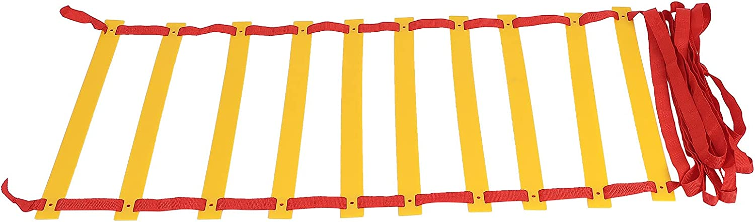 Agility Ladder Adjustable Jumping Step Limited Indianapolis Mall Special Price Fitnes Rope Outdoor Rungs