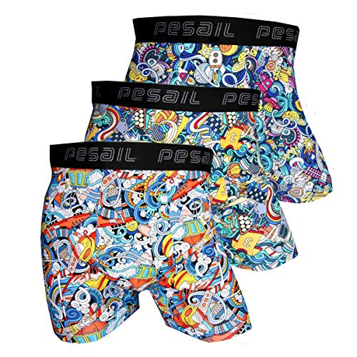 Pesail Special Edition Boxershorts Collection Show it, Größe X-Large (XL), Farbe je 3X Farbmix