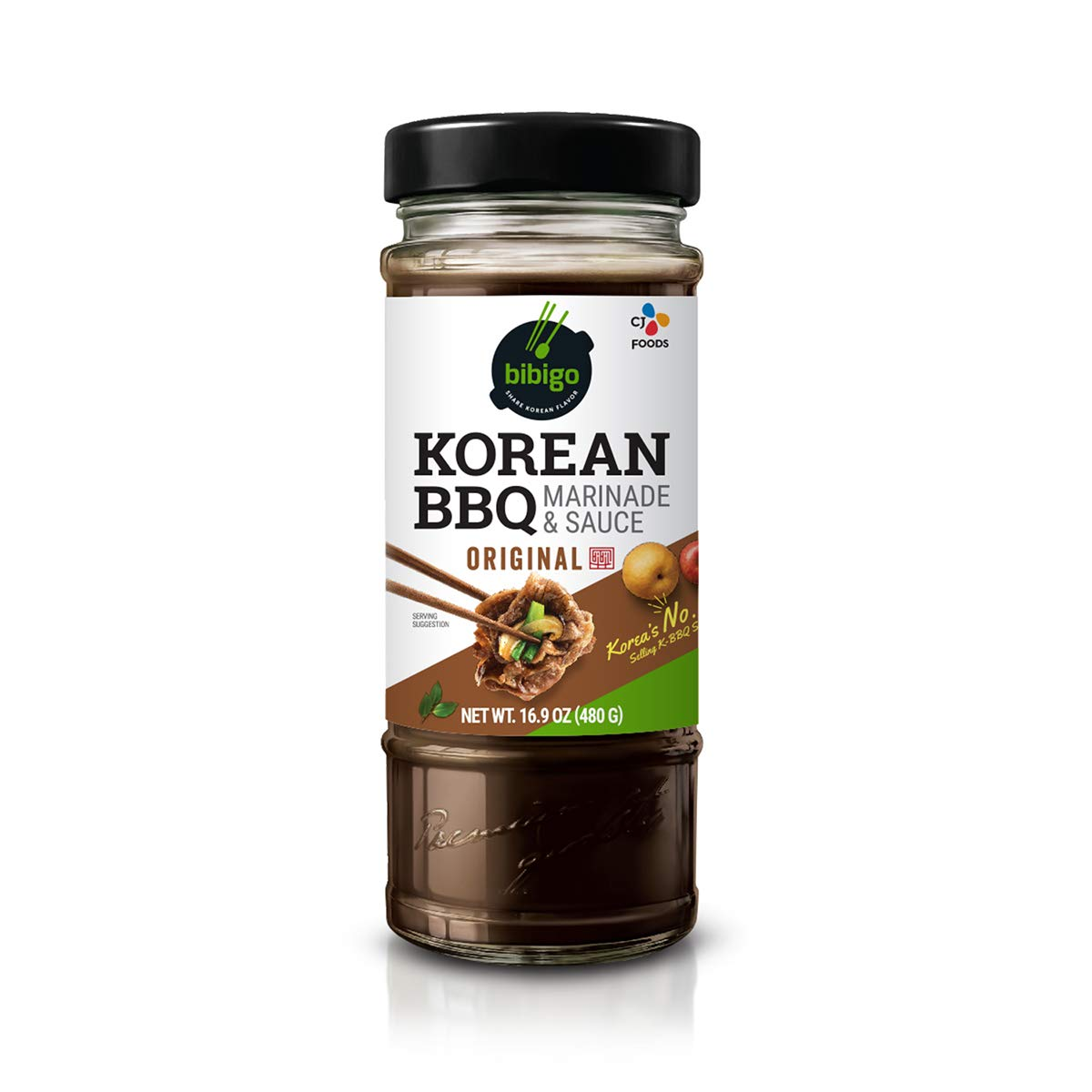 Bibigo 16.9oz 6-Pack Original Korean BBQ Sauce  $18.76 Coupon