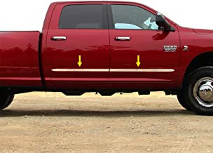 Tyger Auto Made in USA! Works with 2009-2018 Dodge Ram Crew Cab 1.5'' Wide 4PC Body Side Molding Trim