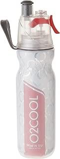 o2 cool spray water bottle