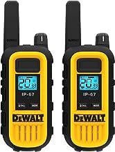 Best DEWALT DXFRS300 1 Watt Heavy Duty Walkie Talkies - Waterproof, Shock Resistant, Long Range & Rechargeable Two-Way Radio with VOX (2 Pack) Review