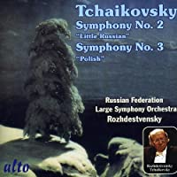 Tchaikovsky: Symphonies Nos. 2 (Little Russian) and 3 (Polish) by Large Symphony Orchestra of the Russian Federation (2011-03-08)