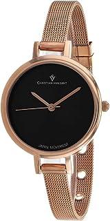 Christian Van Sant Women's Grace Quartz Stainless Steel Strap, Rose Gold, 8 Casual Watch (Model: CV0287)