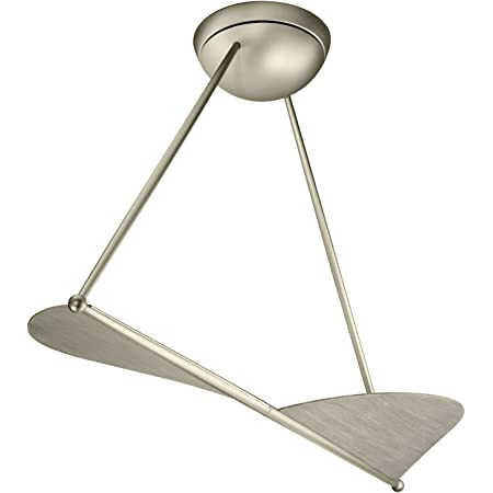 Kichler 300254NI Kyte Modern Ceiling Fan Without Lights, 50-inch, Brushed Nickel