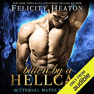 Bitten by a Hellcat     Eternal Mates Paranormal Romance Series, Book 6              By:                                                                                                                                 Felicity Heaton                               Narrated by:                                                                                                                                 Aaron Abano                      Length: 5 hrs and 28 mins     95 ratings     Overall 4.5