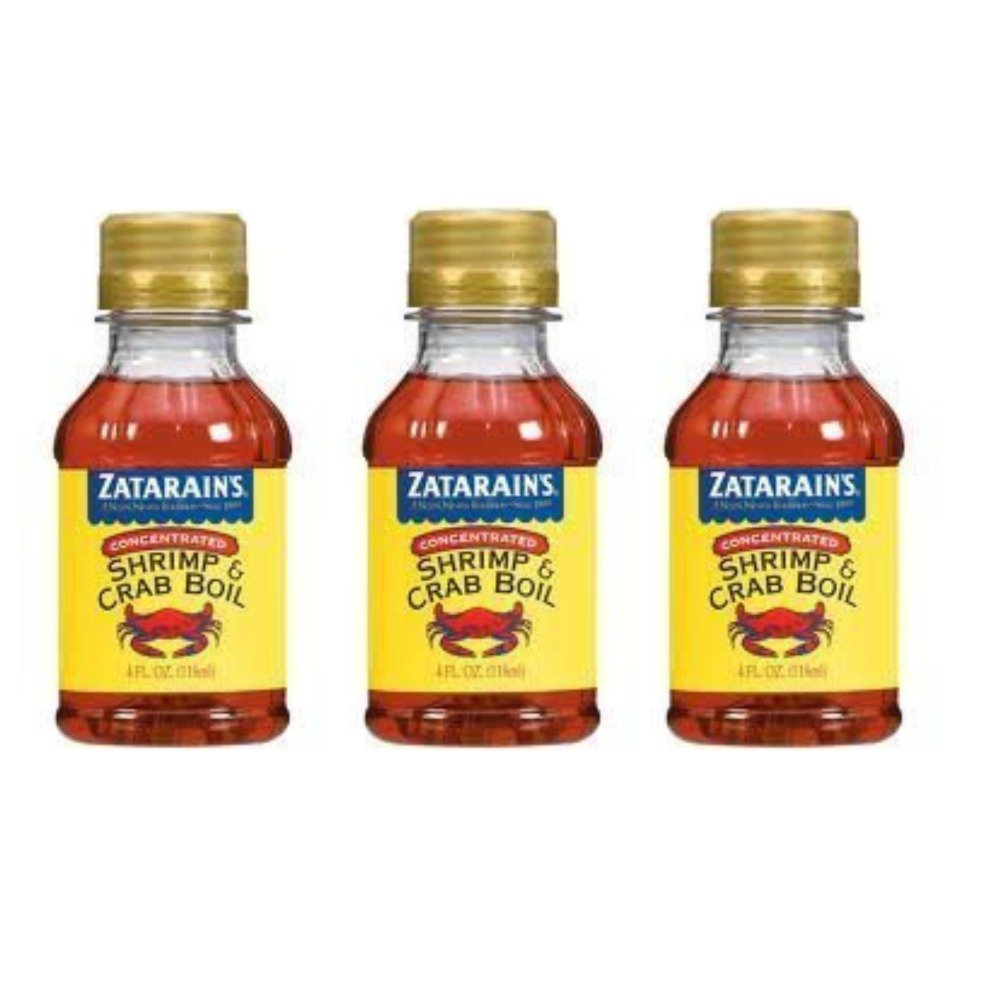 Zatarains Concentrated Crab and Over Large-scale sale item handling Shrimp Boil of Zatar Pack 3 by