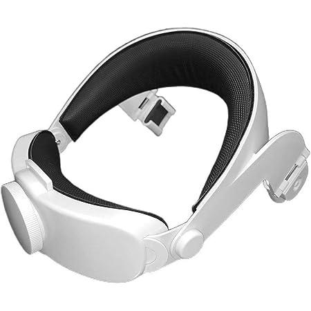 Just E Joy VR - Correa para la cabeza de gafas Oculus Quest 2 Elite ajustable y cómodo VR Gaming Headset diadema con cojín para Oculus Quest 2 Elite Strap