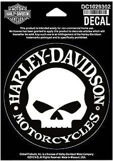 Best harley davidson skull decal Reviews