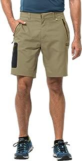 Jack Wolfskin Men's Active Track Soft Shell Hiking Shorts 100% PFC Free