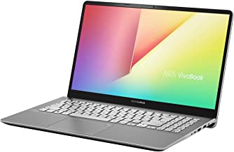 ASUS S530FN 15.6 Inch FHD Thin and Portable Laptop, Intel Core i7-8565U, NVIDIA GeForce MX150, 8GB DDR4 RAM, 256GB SSD + 1TB HDD Hybrid, Backlit Keyboard, Narrow Bezel Design, Win 10