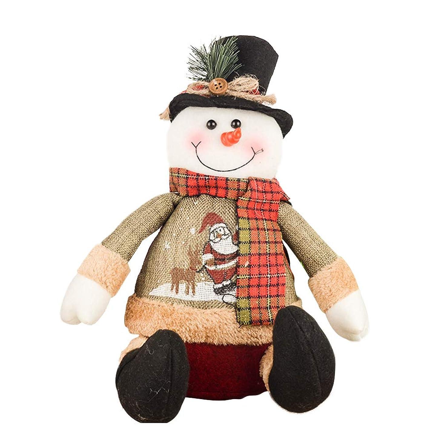 特派員言い訳懺悔PROKTH クリスマスデコレーション 可愛いサンタクロース 雪だまる おもちゃ クリスマス装飾 プレゼント インテリア飾りインテリア飾り クリスマス雰囲気満載 単品