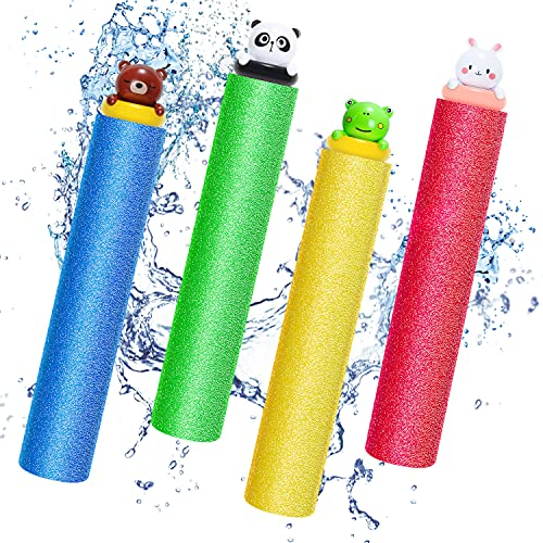 Water Blaster Soaker Toys for Kids,Magicfun 4 Pack Animal Figures Water Toys,Water Shooter for Pool...