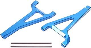Racers Edge 1920BL Revo Aluminum Front Upper Suspension Arm Set - Blue