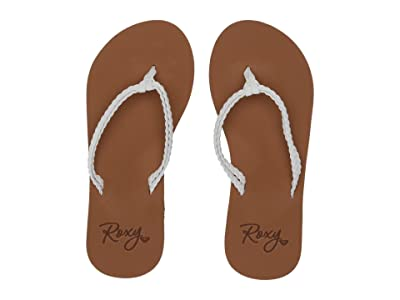 Roxy Kids Costas II (Little Kid/Big Kid) (White) Girl