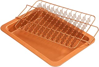 Copper Ceramic Bacon and Roasting Set by Home-Style Kitchen