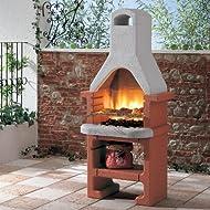 Fire Mountain Masonry Charcoal Barbecue