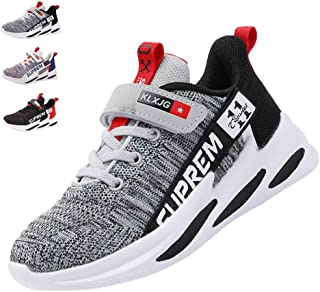 ABILY KEANO Kids Sneakers for Boys and Girls Kids Running Shoes Sport Shoes Tennis Shoes Lightweight Casual Walking Sneakers (Little Kid/Big Kid)