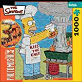 Robert Silvers Photomosaics Homer Simpson Puzzle