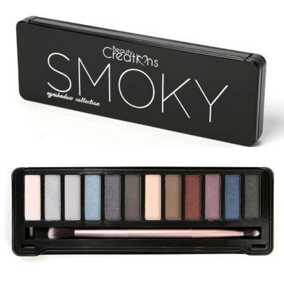 比べるネット借りるBEAUTY CREATIONS Intense Eyeshadow Palette - Smoky (並行輸入品)