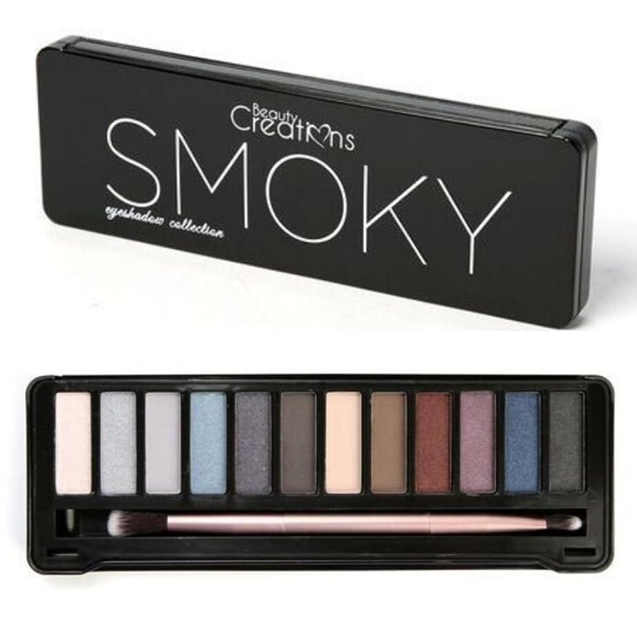 動かないラジウムスリップシューズBEAUTY CREATIONS Intense Eyeshadow Palette - Smoky (並行輸入品)