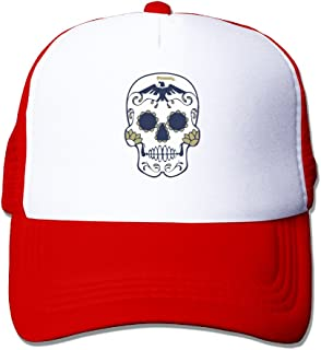 Shiningstar US Navy Sugar Skull Trucker Mesh Cap