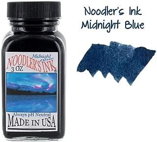 Noodler's Ink Fountain Pen Bottled Ink, 3oz - Midnight Blue