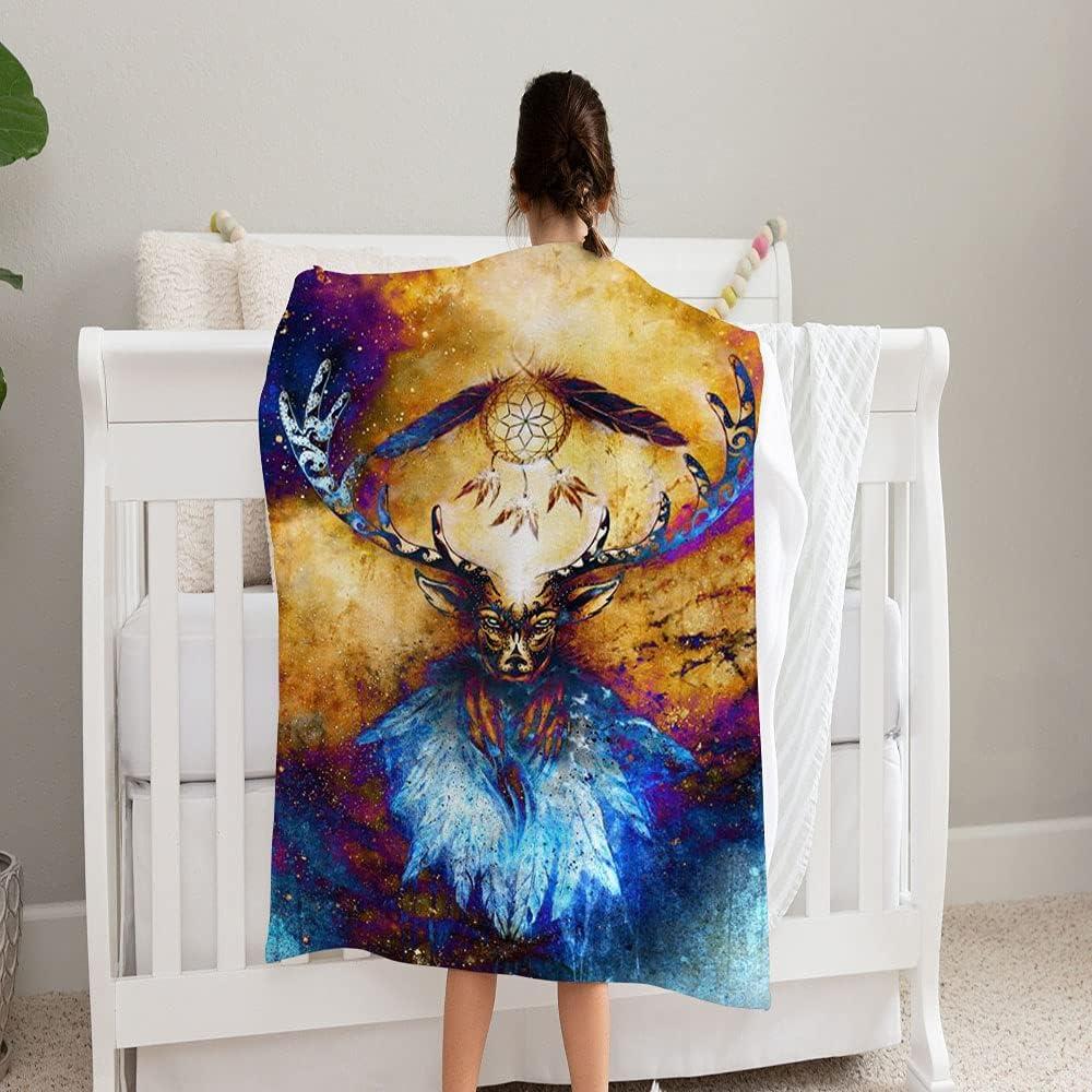 Surprise price LPVLUX Sacred Deer Spirit Dream Catcher an 5 Super Soft Blanket 2021new shipping free