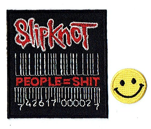SLIPKNOT : an American heavy metal music band apliques bordado hierro en...