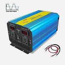 Transformador Durable del veh/ículo de Poder 12V a 220V Bolange Convertidor de inversor automotriz 1000W