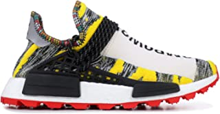 adidas Originals Pharrell x NMD 'Solar Pack' Shoe - Men's Casual White/Core Black/Red