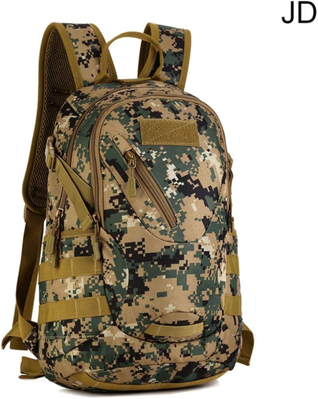 Yyqtbb Militrische Taktische Rucksack groe Armee Assault Pack Bag Ruckscke für Outdoor Wandern Camping Trekking Jagd, 20L
