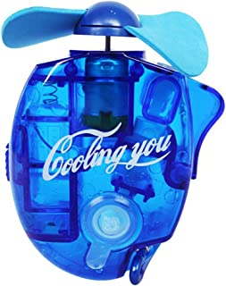Vosarea–Ventilador vaporizador Portátil de Inyección de Agua Enfriador (Azul)