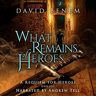 What Remains of Heroes audiobook cover art
