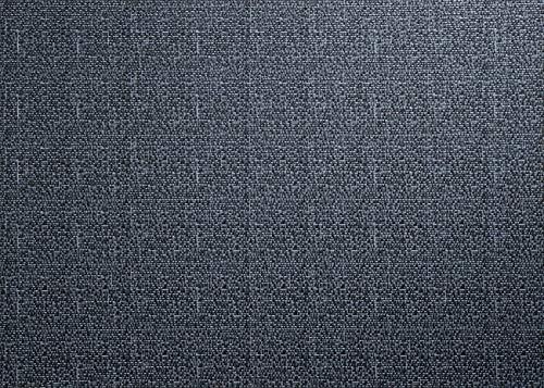 ASA Selection Set de Table en Plastique PVC avec Bord tissé, Woven Blue, 6 Stück à 33x46 cm