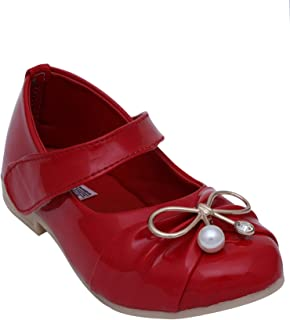 D'chica Love 'Em in Red Mary Janes for Girls